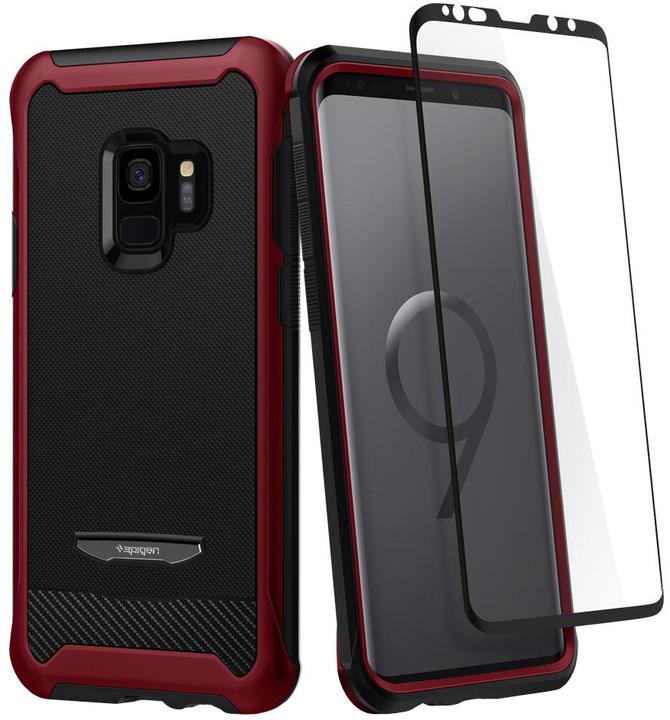 Spigen Reventon pro Samsung Galaxy S9, metallic red