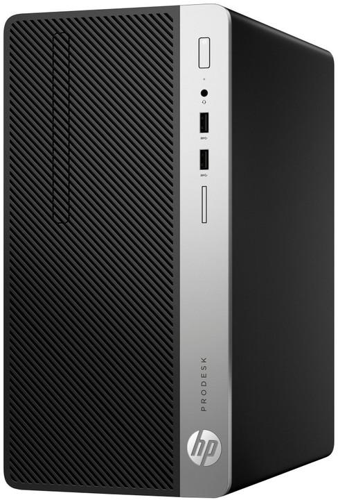 HP ProDesk 400 G4 MT, černá