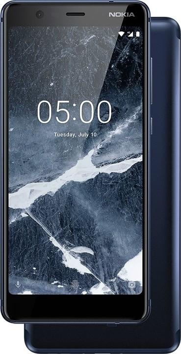 Nokia 5.1, 16GB, Dual SIM, modrá