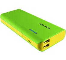 ADATA PT100 10000mAh zelená/žlutá