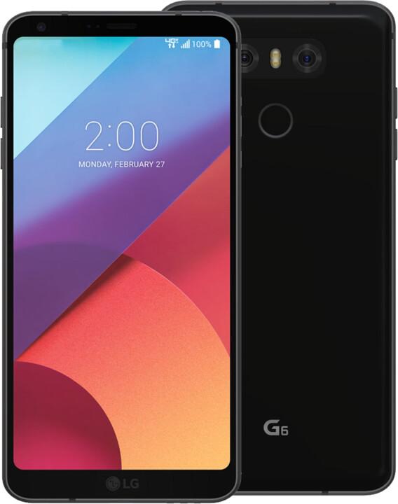 LG G6, 4GB/32GB, černá