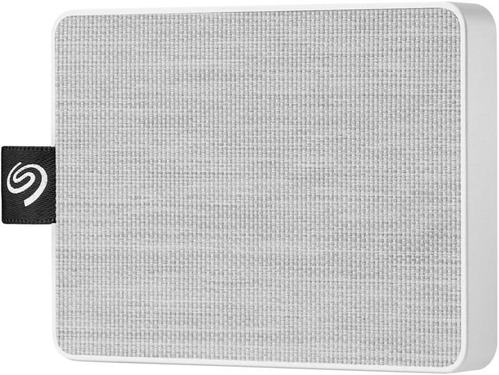 Seagate One Touch - 500GB, bílá
