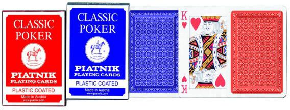 Hrací karty Piatnik Poker - Classic