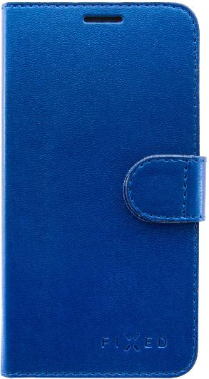 FIXED FIT pouzdro typu kniha Shine pro Samsung Galaxy A6, modrá