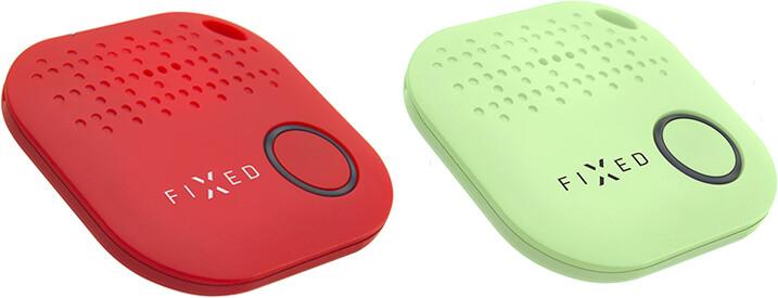 FIXED Smile Key finder, DUO PACK - červený + zelený