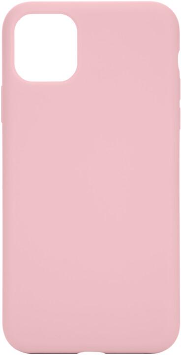Tactical silikonový kryt Velvet Smoothie pro Apple iPhone 11 Pro Max, růžová