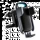 Baseus Milky Way držák do auta s bezdrátovým nabíjením 15W, černá