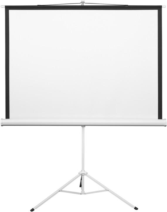 """MAX projekční plátno se stativem 72"""", 145x110cm, 4:3"""