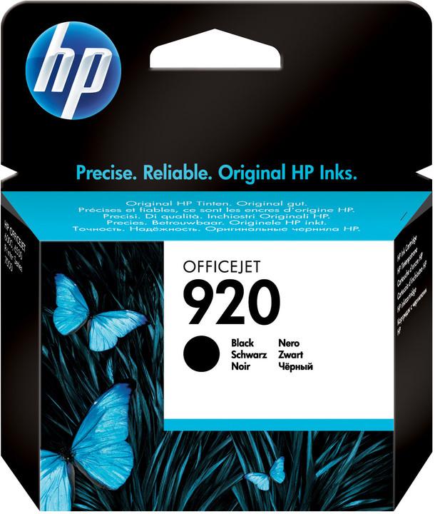 HP CD971AE, č. 920, černá