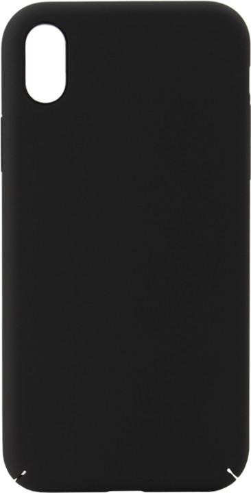 EPICO ultimate plastový kryt pro iPhone XR, černý