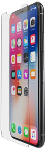 Belkin InvisiGlass Ultra - ochrana displeje pro iPhone X/Xs, s instalačním rámečkem