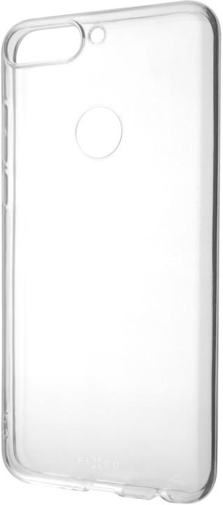 FIXED TPU gelové pouzdro pro Huawei Y7 Prime (2018), čiré