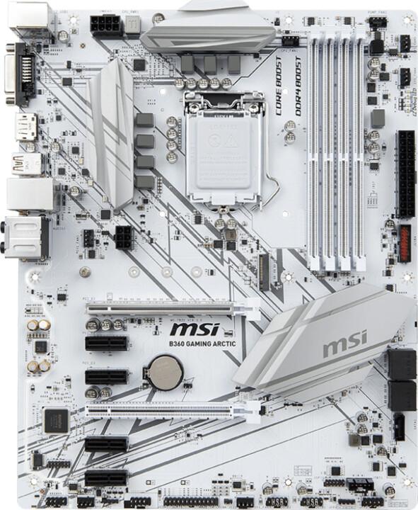 MSI B360 GAMING ARCTIC - Intel B360