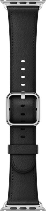 Apple watch náramek 38mm Black Classic Buckle