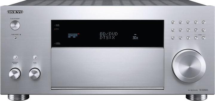 Onkyo TX-RZ800, stříbrná