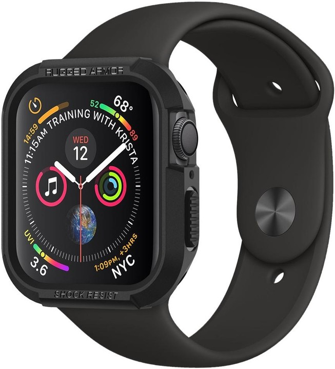Spigen Rugged Armor Apple Watch 4/5 44mm, černá