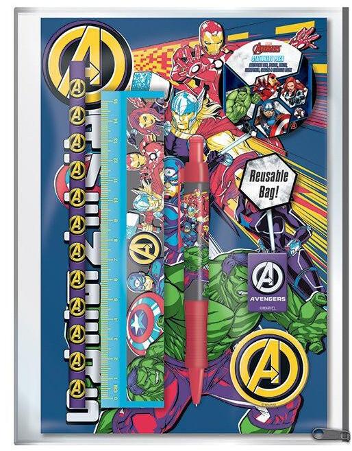 Školní pomůcky Marvel - Avengers (5 předmětů)