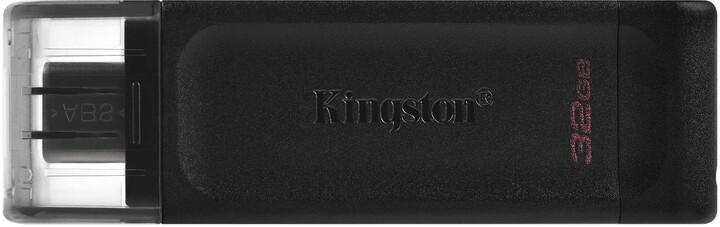 Kingston DataTraveler 70 - 32GB, černá