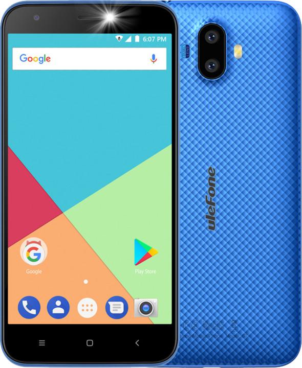 Ulefone S7, 1GB/8GB, modrá