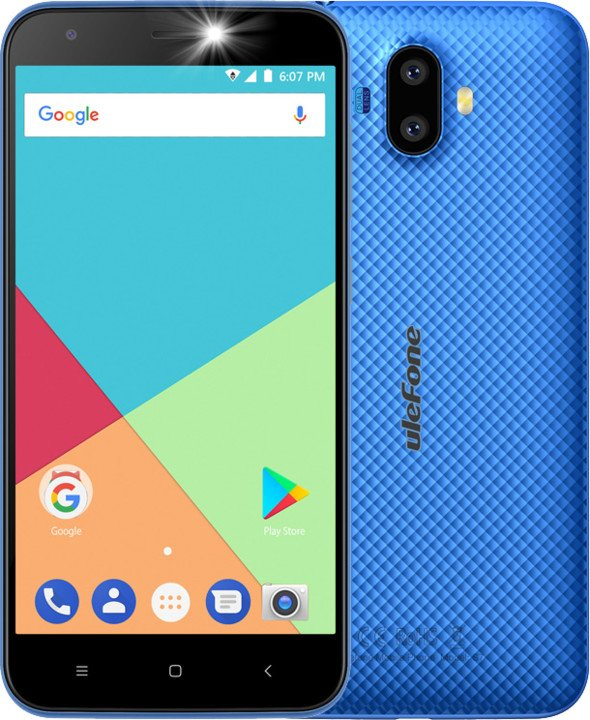 Ulefone S7, 8GB, modrá