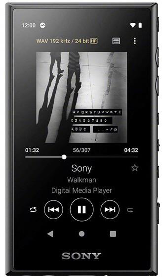 Sony NW-A105L - 16GB, černá