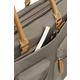Samsonite Move Pro - FLAT TOTE IPAD, stříbrno/zelená