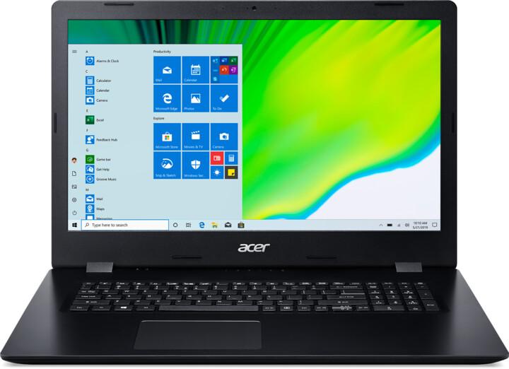 Acer Aspire 3 (A317-52), černá