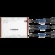 Noctua kabel NA-SYC1 chromax.blue