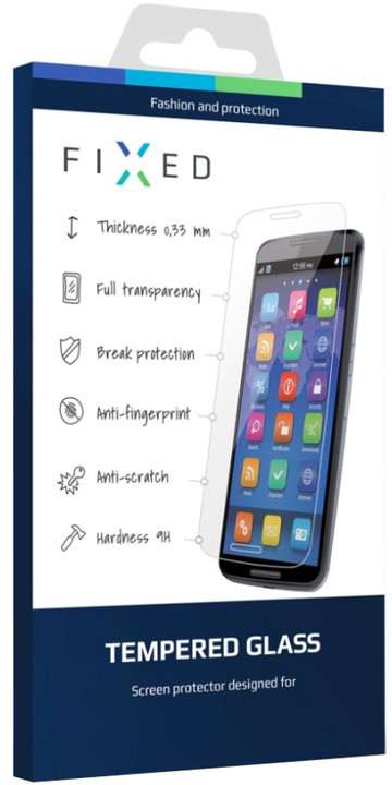 FIXED ochranné tvrzené sklo pro Nokia 3, 0.33 mm