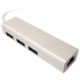 UNIBOS redukce USB 3.0 -> RJ45 + 3x USB 3.0