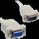 PremiumCord prodlužovací kabel-myš 9pin, 2m, rozebírací