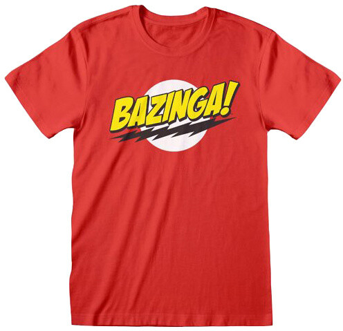 Tričko The Big Bang Theory - Bazinga (M)