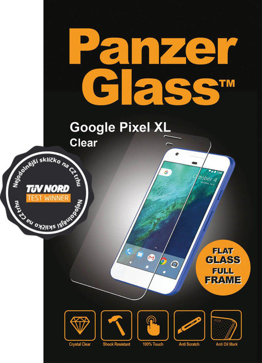 PanzerGlass Original, ochranné sklo pro Google Pixel XL