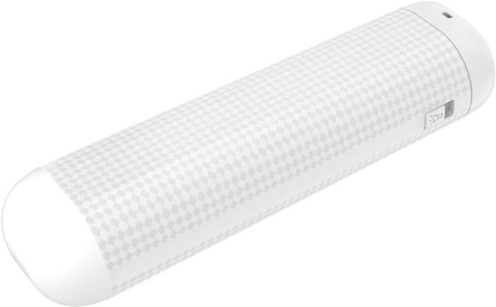 GoGEN PowerBank 2500 mAh, svítilna bílá