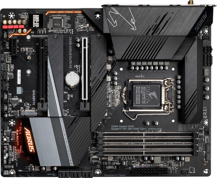 GIGABYTE Z590 AORUS ELITE AX - Intel Z590