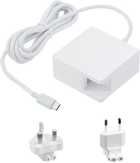 eSTUFF adaptér 45W USB-C Power Adapter, bílá