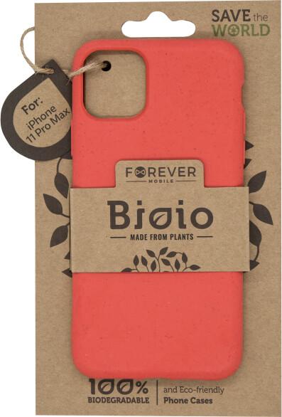 Forever Bioio zadní kryt pro iPhone 11 Pro Max, červená