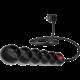 CONNECT IT prodlužovací kabel 230 V, 5 zásuvek, 5 m, s vypínačem (černý)