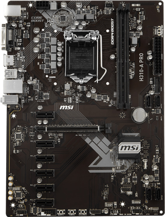 MSI H310-A PRO - Intel H310