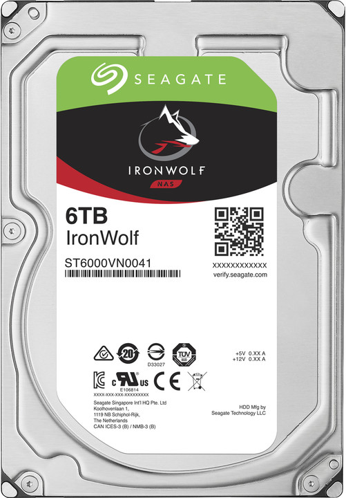 Seagate IronWolf - 6TB