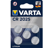 VARTA CR2025, 5ks - 6025101415