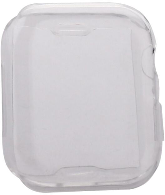 COTEetCI ochranný kryt pro Apple Watch, Fully Plated, 44mm, transparentní