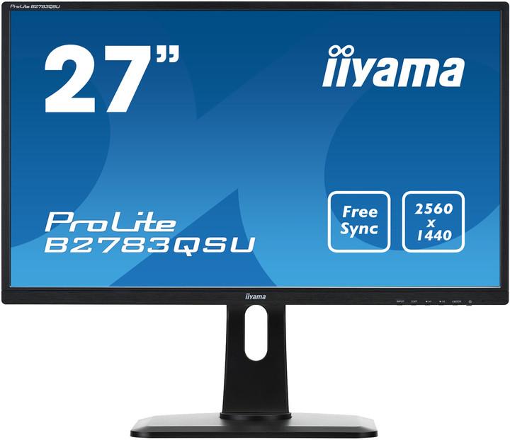 """iiyama B2783QSU-B1 - LED monitor 27"""""""