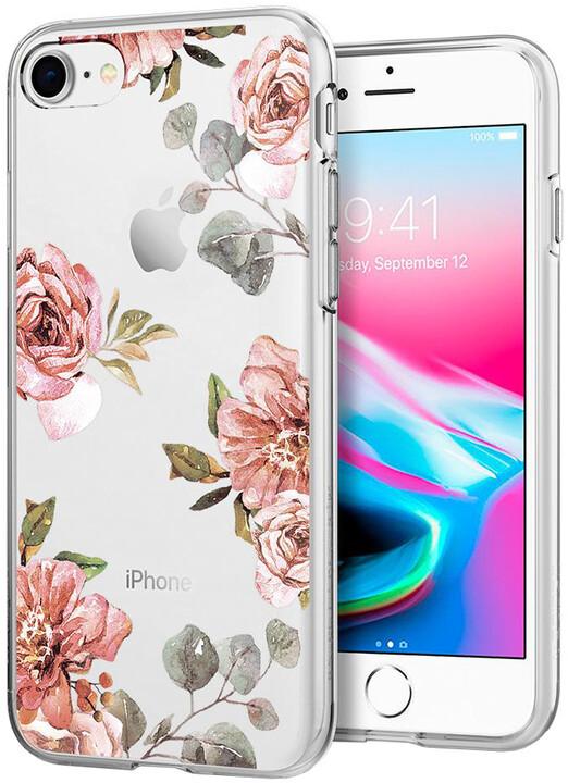 Spigen Liquid Crystal zadní kryt pro iPhone 7/8, aquarelle rose