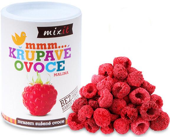Mixit křupavé ovoce - malina, 70g