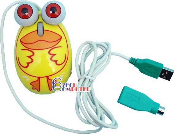The Frog Family - Duck Mouse (COMBO PS/2 + USB)