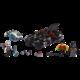 LEGO DC Comics Super Heroes 76118 Mr. Freeze vs. Batman na Batmotorce