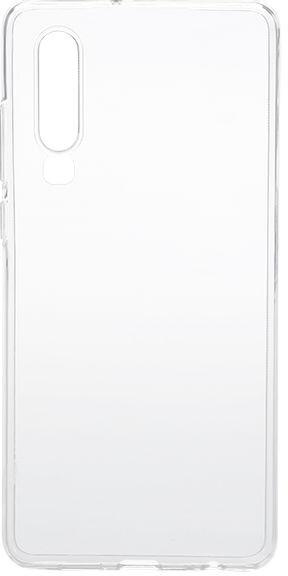 EPICO pružný plastový kryt pro Huawei P30, bílá transparentní