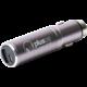 PlusUs Life2Go 2-in-1 Car charger + 1,000 mAh PowerBank MicroUSB - Blue Grey