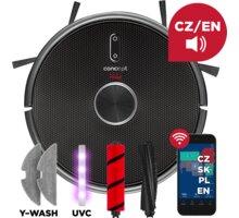 Concept VR3210 Robotický vysavač s mopem 3 v 1 REAL FORCE Laser UVC Y-wash